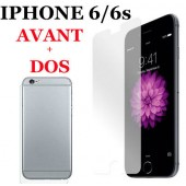 FILM PROTECTION ECRAN VITRE LCD ★★ IPHONE 6 6S ★★ AVANT + DOS ★★ VERRE TREMPE