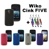 HOUSSE COQUE ETUI PROTECTION GEL SILICONE By MOCCA ★ WIKO CINK FIVE ★MINI STYLET