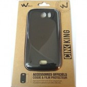 HOUSSE COQUE ETUI PROTECTION SILICONE ★ WIKO CINK KING ORIGINAL★ + FILM + STYLET