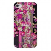 COQUE ARRIERE RIGIDE BACK COVER + FILM ★ KENZO KILA FLOWER  ★ IPHONE 4 4S  ★★