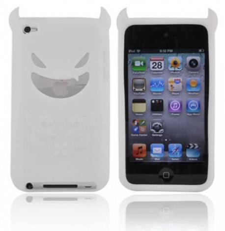 Housse etui coque silicone ipod touch 4 4g diable for Housse ipod touch