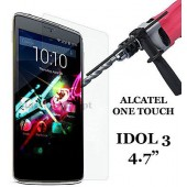 FILM PROTECTION VITRE ★★ ALCATEL ONE TOUCH OT IDOL 3 4.7  ★★ VERRE TREMPE 2.5