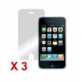 3x FILM de Protection Ecran vitre Iphone 3G 3GS 8Gb 16Gb