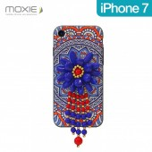 COQUE DESIGN ★★FLEUR  INCA PENDENTIF PERLES ★ IPHONE 7 ★★ FASHION By KELEO