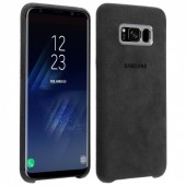 COQUE COVER ORIGINAL SAMSUNG ★ GALAXY S8 PLUS ★ ALCANTARA NOIR