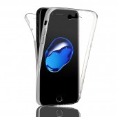 COQUE INTEGRALE 360 FULL BODY SILICONE TPU ★ IPHONE 7 ★ TRANSPARENT