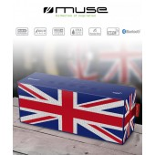 ENCEINTE BLUETOOTH ★ MUSE ETANCHE ★ DRAPEAU ANGLAIS UK  STATION PC MP3