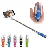 MINI PERCHE SELFIE ★ UNIVERSEL APPLE ANDROID ★ COLORIS AU CHOIX CANNE RETRACTABLE