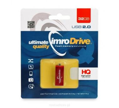 Clé USB 2.0 - IMRO DRIVE 32GB Rouge - Fabrication en Europe