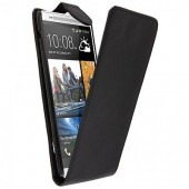 HOUSSE COQUE ETUI A CLAPET ★★ HTC ONE MAX 803S ★★ FLIP COVER BLACK CASE
