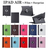 HOUSSE COQUE ETUI 360 ROTATION CUIR PU ★ IPAD AIR ★ ROTATE CASE + FILM +SURPRISE