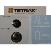 ★ X2 ADDITIONAL CLIPS ★ FOR TETRAX SUPPORT FIX GEO SMART EGO XWAY