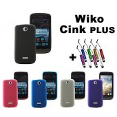 HOUSSE COQUE ETUI GEL SILICONE By MOCCA ★ WIKO CINK + PLUS ★ CINK+ MINI STYLET