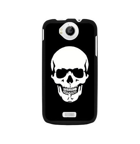 HOUSSE COQUE ETUI PROTECTION ★★ WIKO CINK PEAX 2 ★★ TETE MORT SKULL by MOXIE
