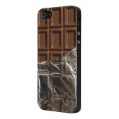 HOUSSE COQUE ETUI MOXIE ★★ TABLETTE CHOCOLAT ★★ IPHONE 5 5S SE ★ FUN CHOCO CASE