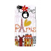HOUSSE ETUI COQUE PROTECTION ★ AKASHI ★ IPHONE 4 4S ★ MOULIN ROUGE + FILM ECRAN