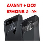 FILM PROTECTION DUO ★★ AVANT et ARRIERE ★★ IPHONE 5 5S SE ★★ VITRE ECRAN LCD DOS