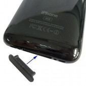 CAPUCHON ANTIPOUSSIERE DOCK Iphone 3G 3Gs USB + JACK ★