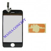 VITRE ECRAN TACTILE IPHONE 3GS + ADHESIF