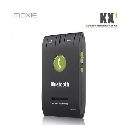 KIT MAIN LIBRE BLUETOOTH ★ MOXIE KX1 ★ UNIVERSEL SAMSUNG IPHONE NOKIA LG HTC ...
