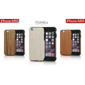HOUSSE COQUE ETUI ★★ MOXIE BOIS VERITABLE ★★ IPHONE 6 6S 4,7 ★ WOOD SERIES