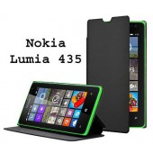 HOUSSE ETUI FOLIO COVER MOXIE + SUPPORT ★ NOKIA LUMIA 435 ★ CUIR PU FLIP CASE