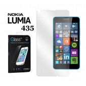 FILM PROTECTION ECRAN VITRE LCD MOXIE ★  NOKIA LUMIA 435 ★ VERRE TREMPE 2.5D 0,3