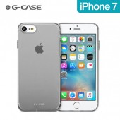 COQUE SKIN PROTECTION ULTRA FINE ★★ GCASE ★ IPHONE 7 ★★ FUMEE TRANSPARENTE