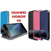 COQUE ETUI HOUSSE CASE FOLIO SLIM ★★ HUAWEI HONOR 4X ★★ ECRAN SMART VIEW