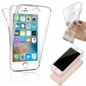 COQUE INTEGRALE 360 FULL BODY SILICONE TPU ★ IPHONE 5 5S 5SE★ TRANSPARENT