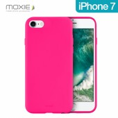 COQUE SOUPLE SOFT TOUCH BE FLUO ROSE ★★ MOXIE ★★ IPHONE 7 ★★ ANTICHOC