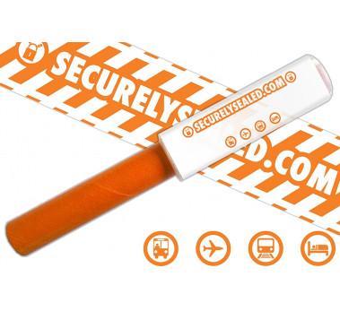 PROTECTION BAGAGE VALISE ANTI VOL CADENAS ★★ SECURELYSEALED ★★ 2 ROULEAUX