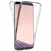 HOUSSE COQUE COVER ★★ CRISTAL  FULL BODY ★ SAMSUNG GALAXY S8 ★★ TRANSPARENT