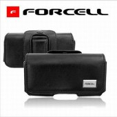 ETUI HOUSSE CEINTURE LUXE Noir ★★ NOKIA MICROSOFT LUMIA 535 ★★ CUIR FORCELL