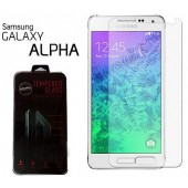FILM PROTECTION ECRAN VITRE LCD ★ SAMSUNG GALAXY ALPHA ★ VERRE TREMPE 2.5D 0,3mm