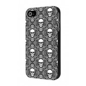 HOUSSE ETUI COQUE PROTECTION ★★ IPHONE 5C ★★ TETE DE MORT SKULL BACK CASE