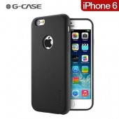 HOUSSE ETUI COQUE ★★  G-CASE NOBLE SERIES CUIR PU ★ IPHONE 6 6S ★ NOIR BLACK