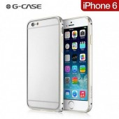 HOUSSE ETUI COQUE ULTRA FIN ★★  BUMPER G-CASE ★ IPHONE 6 6S ★ ALUMINIUM SILVER