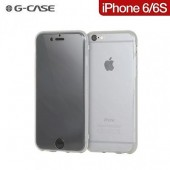 HOUSSE COQUE ETUI INTEGRALE 360 ★★  G CASE CLEAR ★★ IPHONE 6 6S ★★ TRANSPARENT