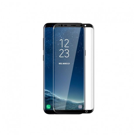 FILM FULL PROTECTION ECRAN VITRE INCURVE ★★ SAMSUNG GALAXY S9 PLUS ★★ VERRE TREMPE 2.5D