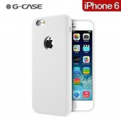 HOUSSE ETUI COQUE ★★  G-CASE NOBLE SERIES CUIR PU ★ IPHONE 6 6S ★ BLANC WHITE