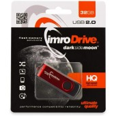 Clé USB 2.0 - Version HQ Dark Side of the Moon - IMRO DRIVE 32GB Rouge