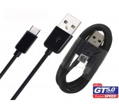 Cable Original Samsung - USB-C -  EP-DG950CBE  - Galaxy S8 / S8+ Noir