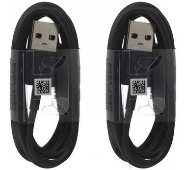 Pack X2 Cables Samsung - USB-C -  EP-DG950CBE  - Original Noir