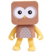 ENCEINTE BLUETOOTH KIT MAINS LIBRES UNIVERSEL DANCING ANIMALS de MOB DA-10 HIBOU