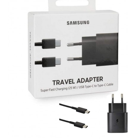 CHARGEUR SECTEUR SUPER FAST CHARGER 25W + CABLE USB-C - EP-TA800 - BLISTER
