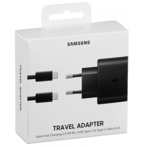 CHARGEUR SECTEUR SUPER FAST CHARGER 45W + CABLE USB-C 5A - EP-TA845 - BLISTER